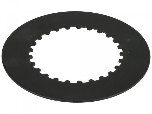 Clutch plate, steel disc - for MZ ES, TS, ETZ, RT125