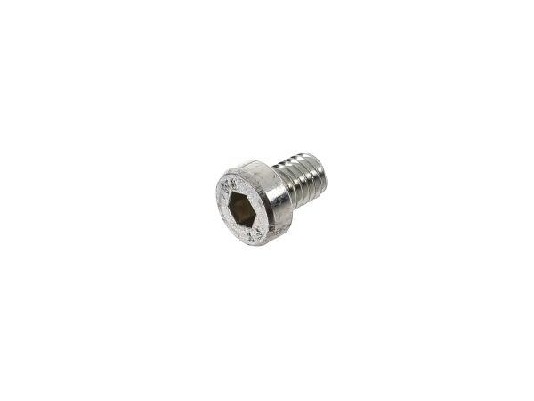 Zylinderschraube Innensechskant, niedriger Kopf M6x8 - DIN7984