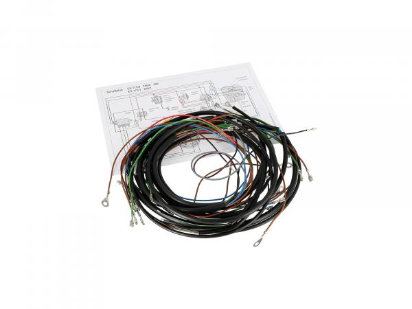 Cable harness set for ES 175,250,300 plug contacts