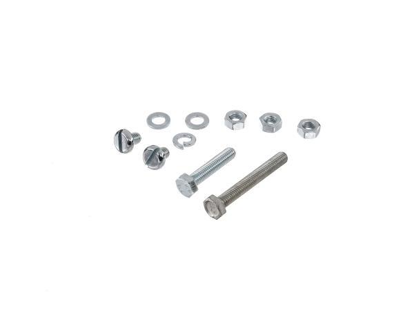Set: Sechskantschrauben, Flachkopfschrauben für Abgasanlage, Auspuff, Krümmer  S50, S51, S51E, S70, S70E