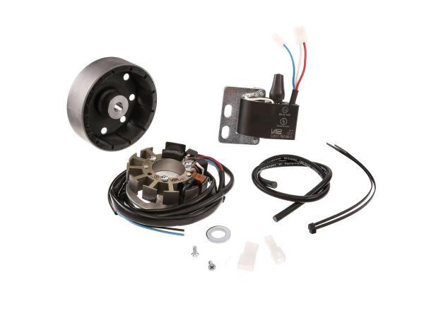 Lichtmaschine, elektronische Zündung 6V/18W Wechselstrom - für MAW Hilfsmotor