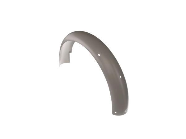 Kotflügel hinten, Grau pulverbeschichtet - Simson S50, S51, S70