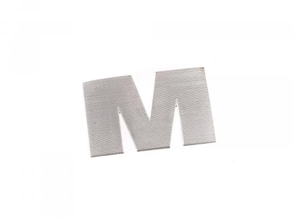 Letter M right for fuel tank ETZ 125,150,251/301