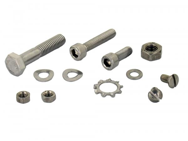 Set: cylinder screws, hexagon socket in stainless steel for handlebars Sperber SR4-3, Habicht SR4-4
