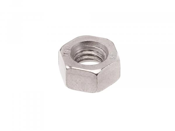Hexagon nut M6 chrome - DIN934