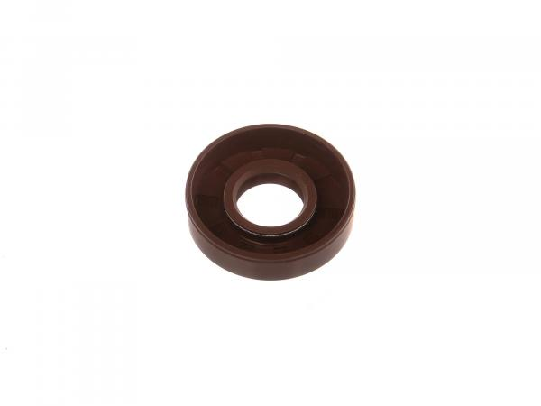 Oil seal 17x40x10, brown - MZ RT125/2 - IWL SR56 Wiesel