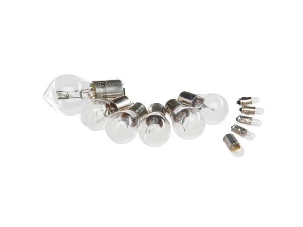 10001981 Glühlampensatz 12V 35/35W - für Simson SR50, SR80 - Bild 1