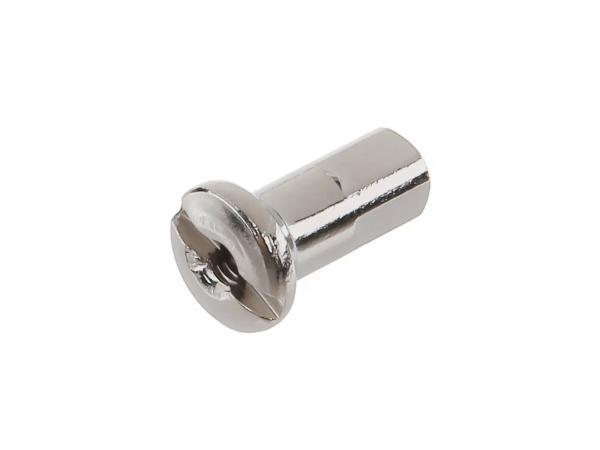 Speichennippel M3 Edelstahloptik - für SR1, SR2, KR50, SL1