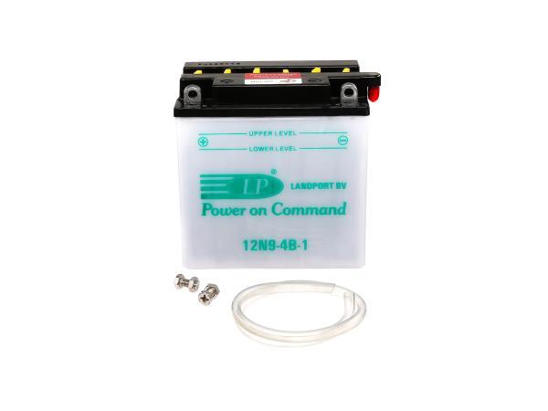 Batterie 12V 9Ah LANDPORT (ohne Säure) - MZ ETZ