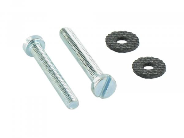 Set: cylinder screws, slotted headlight ring Schwalbe KR51, Spatz SR4-1, Star, SR4-2, Sperber SR4-3, Habicht SR4-4