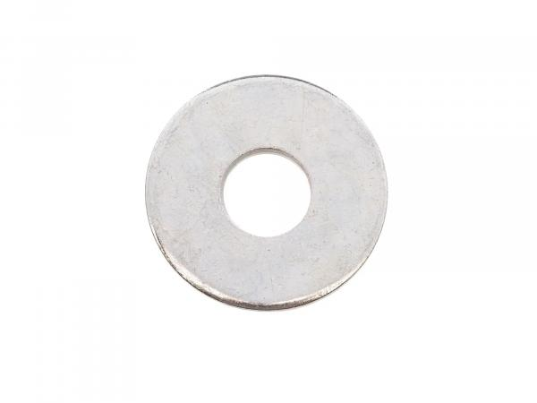 Washer - 6,4x18x1,6 Body washers, galvanized, large outside diameter, DIN 9021