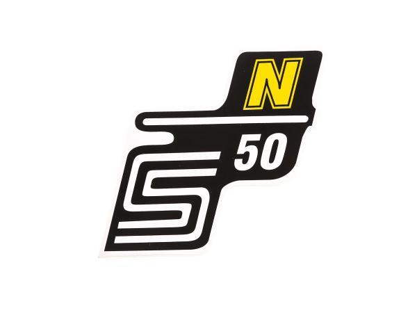 """Klebeschriftzug - """"S50 N"""" Gelb"""