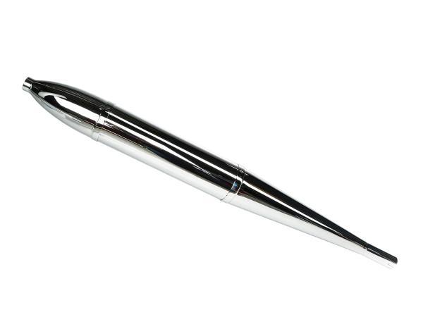 Auspuff Zigarre, dreiteilig Ø30mm, 95cm passend für AWO-Sport, AWO-Touren