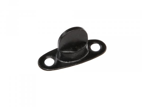 Swivel black (base plate 1mm high) (swivel lock) for hood or knee protection cover suitable for Duo 4/1