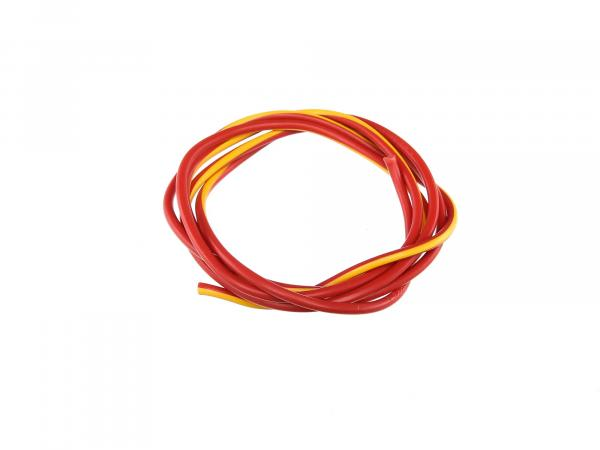 Cable - red/yellow 1,5mm² Automotive cable - 1m