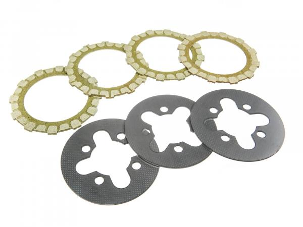 Set: Coupling parts for regeneration - Simson S50, KR51/1 Schwalbe, SR4-2 Star, SR4-3 Sperber, SR4-4 Habicht