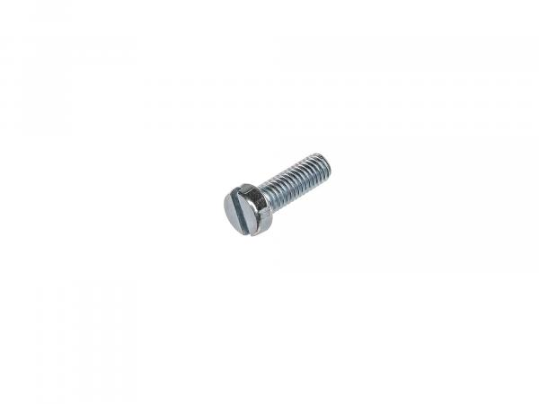Slotted cheese head screw M6x18 - DIN84