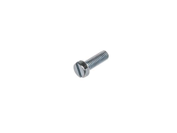 10000836 Zylinderschraube, Schlitz M6x18 - DIN84 - Bild 1