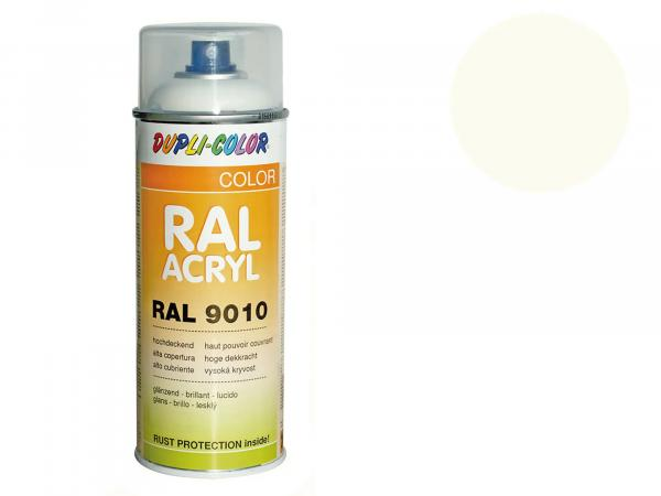 Dupli-Color Acryl-Spray RAL 9001 cremeweiß, glänzend - 400 ml
