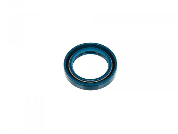 Oil seal 25x35x07, blue - for MZ ETZ, TS, RT, etc.