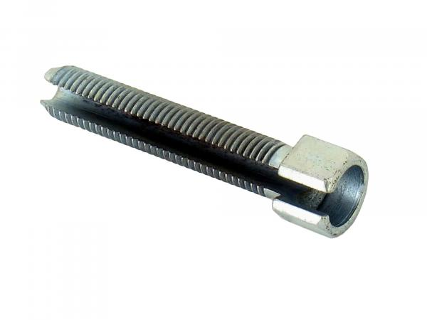 Adjusting screw M8 for foot brake, slotted ES, TS, ETS, RT
