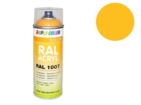 Dupli-Color Acryl-Spray RAL 1023 verkehrsgelb, glänzend - 400 ml