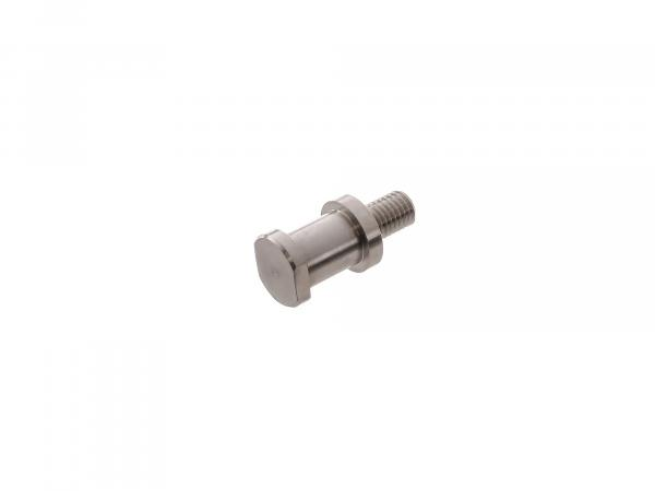 Turning pin for end cap on rear brake, suitable for BK350 - stainless steel, polished
