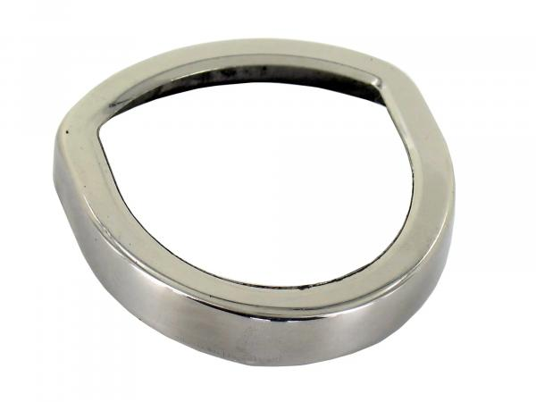 Tachoring chrome for speedo SR1, SR2, KR50 (oval)