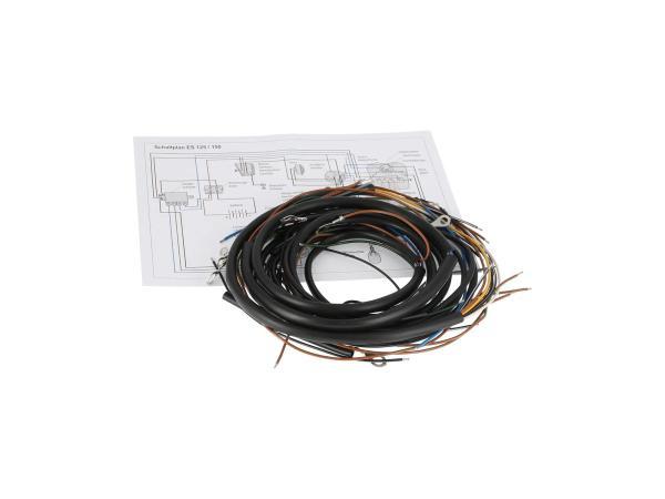 Kabelbaumset für ES 125,150 Schraubkontakte
