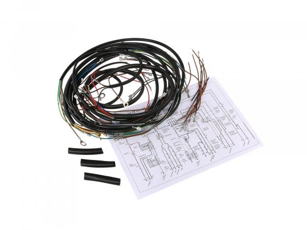 Cable harness set for TS 125,150 de luxe