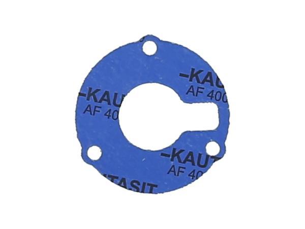 10069221 Dichtung aus Kautasit 1,0mm stark für Dichtkappe Kurbelwelle - für Simson S50, Schwalbe KR51/1 - Bild 1