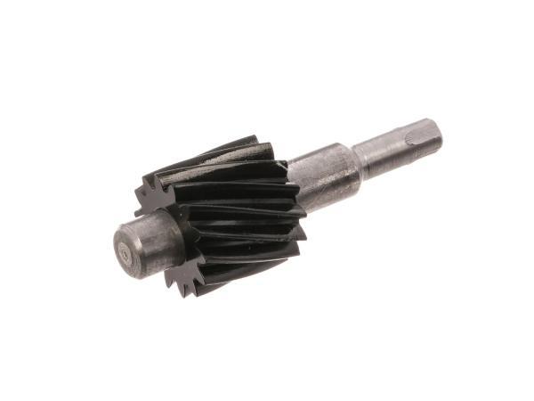 Schraubenrad für Tachoantrieb (14 Zahn) Plastik/Metall - für Simson S51, S53, S83, SR50, SR80