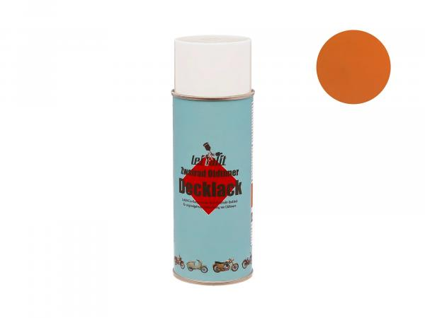 Spray can Leifalit Topcoat Ochre - 400ml