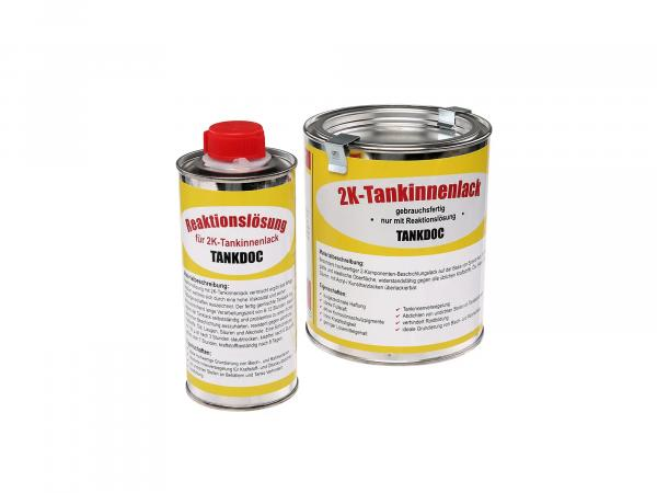 Set: 2K tank interior paint 540g + reaction solution 135g