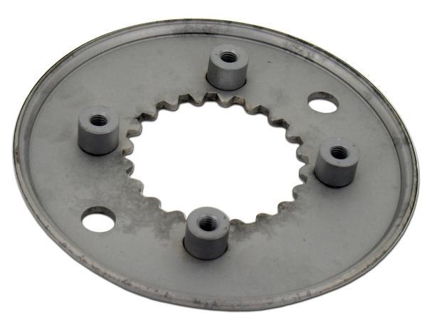 Coupling plate, 4 knob design