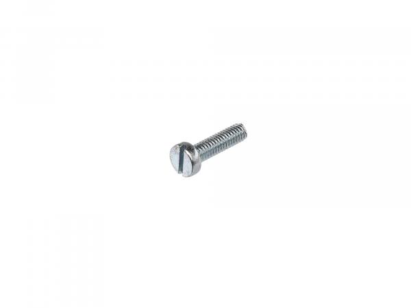 Slotted cheese head screw M4x14 - DIN84