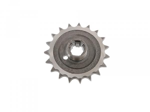 Drive pinion 19 Z - sprocket - pass.  TS250 / 250/1, ETZ 250 / 251 / 301