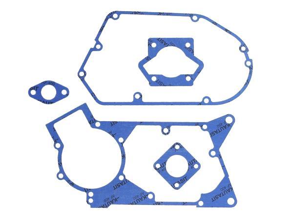 GP10000601 Dichtungssatz aus Kautasit Motortyp M500, Flanschdichtung 2mm, Ø 19mm - für Simson S51, SR50, S53, KR51/2 Schwalbe, DUO 4/2 - Bild 1