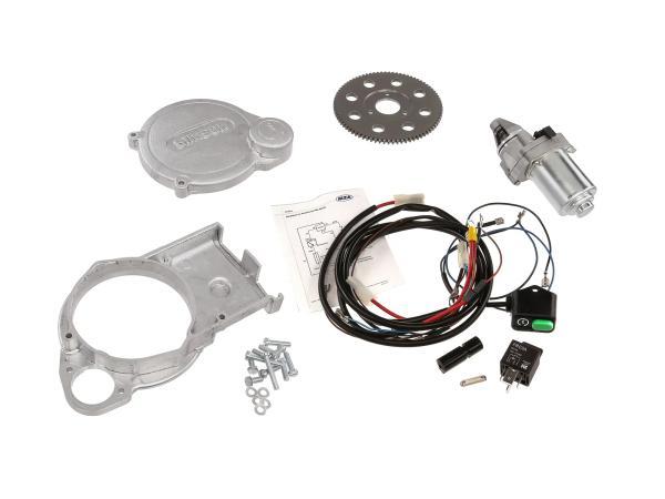 Set: Elektrostarter, Anlasser für VAPE - Simson SR50, SR80, SD50