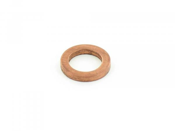 Sealing ring Ø 6x10 DIN 7603, copper