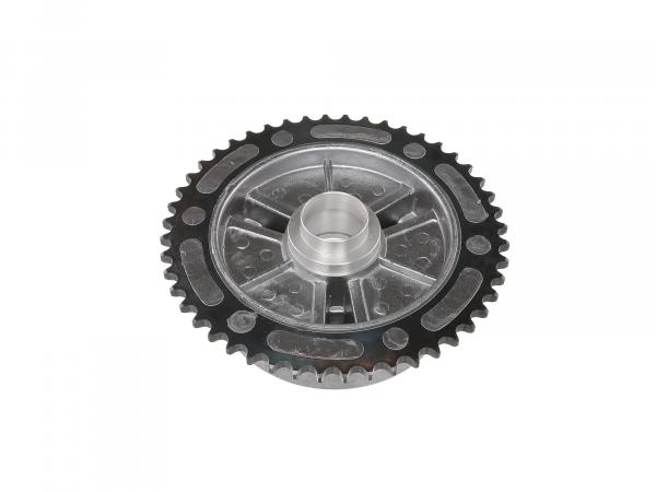 Damping body 48 Z. (driver with gear rim) ETZ251, ETZ301 - Ø bearing seat 42.00mm for bearing 2x SKF 6004 - outside