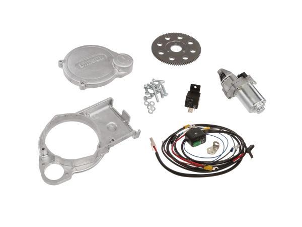 Set: Elektrostarter, Anlasser für VAPE - Simson S51, S70, S53, S83
