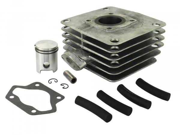 Set: 4-channel cylinder and piston, 50ccm - Simson S51, KR51/2 Schwalbe, SR50