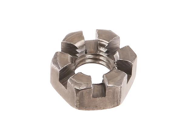 10055678 Kronenmutter M10 niedrige Form - DIN937 - Bild 1