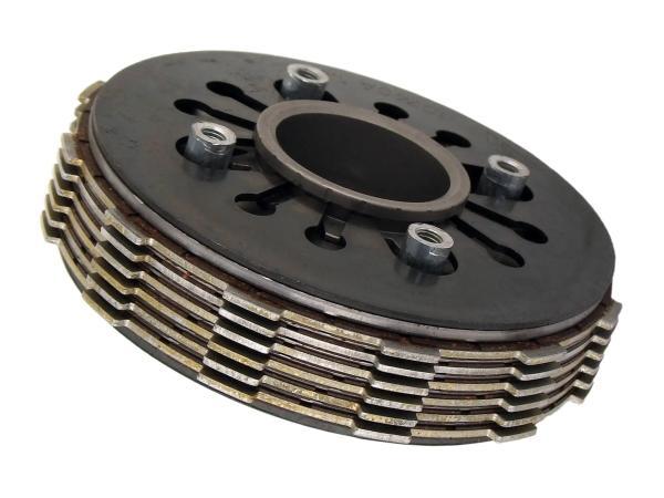10030905 Kupplungspaket 6-Lamellen 1,5 mm - Simson S51, SR50, KR51/2 Schwalbe, S53, S70, SR80, S83, MS50 - Bild 1