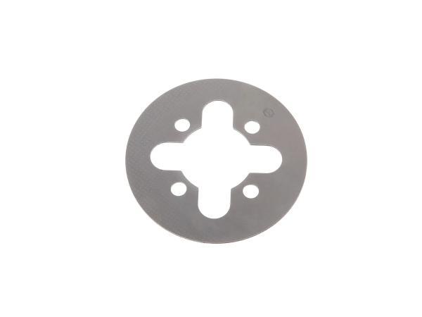 10002460 Kupplungslamelle 1,5 mm Stahl - Simson S50, KR51/1 Schwalbe, SR1, SR2, SR2E, SR4-1 Spatz, SR4-2 Star, SR4-3 Sperber, SR4-4 Habicht, DUO 4/1 - Bild 1