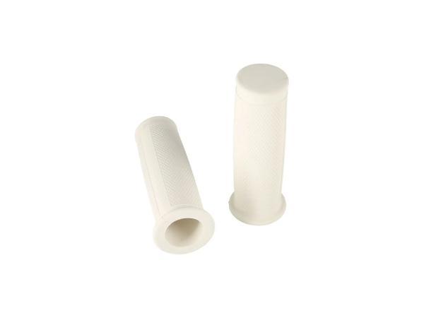 10070024 Set: 2x Lenkergummi weiß (kleiner Bund / ballige Form) - für AWO - Bild 1