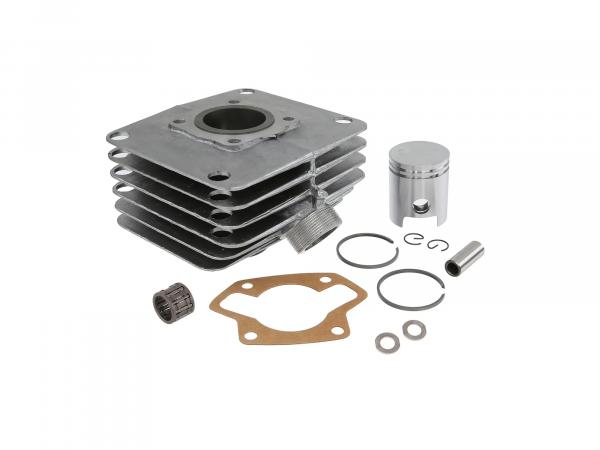 Set: cylinder, piston, needle bearing, 60ccm - for Simson S51, KR51/2 Schwalbe, SR50
