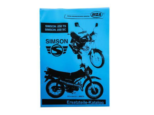 Book - Spare parts catalogue Simson 0.50 TS /SC