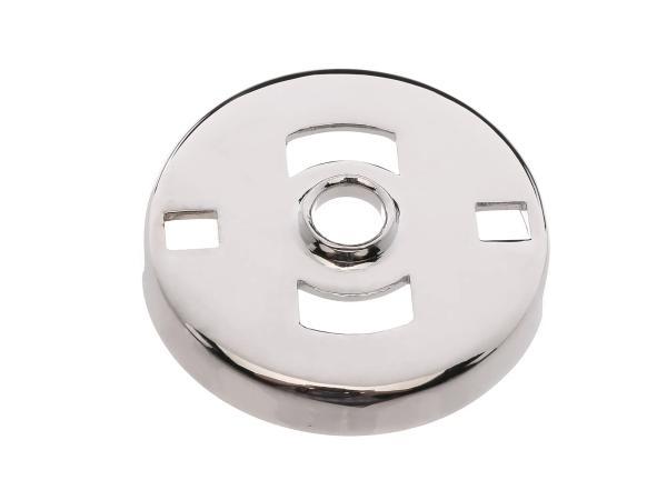 Sicherungskappe zur Federsicherung chrom (Telegabel) - für EMW R35/2, R35/3, EMW R24
